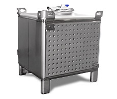 Jacketed Fermentation Tote